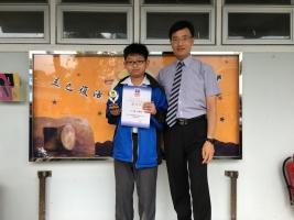 初級組冠軍:2C 王樂希